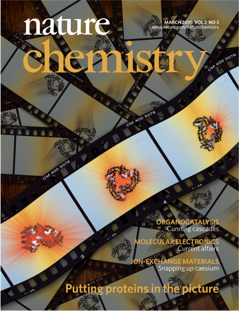 Nature Chemistry Cover 2010